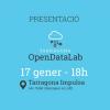 Presentació de Tarragona Open Data Lab el 17 de gener