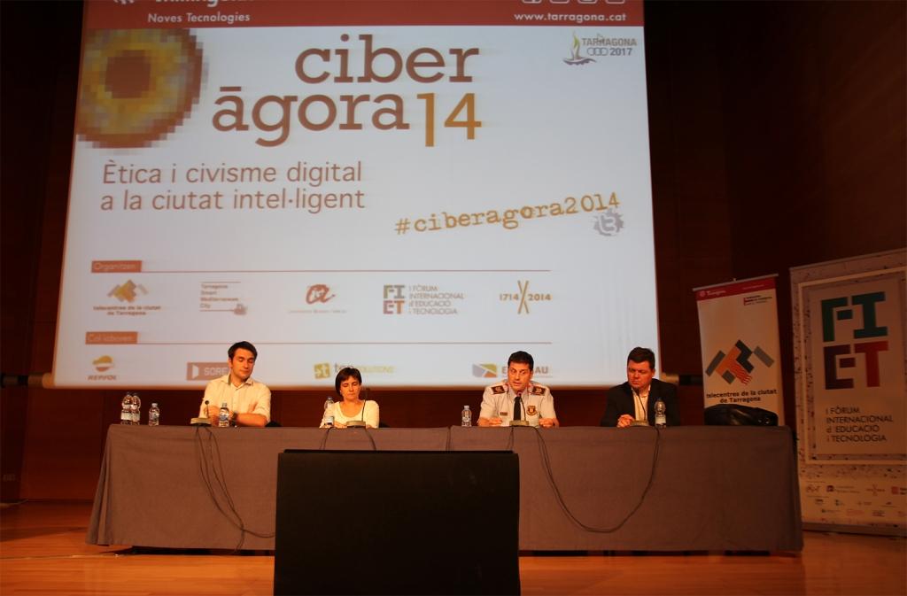D'esquerra a dreta: Jordi Duch, Gemma Filella, Ferran Resina i Ramon Arnó