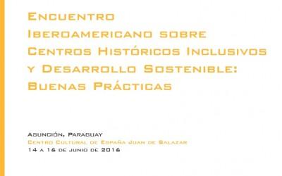 Presentación Encuentro Iberoamericano