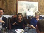 Lourdes Muñoz protagonitza el primer sopar de la càtedra Smart de la URV