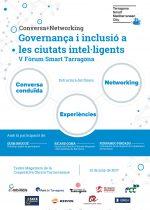 V Fòrum Smart Tarragona: Governança i inclusió a les ciutats intel·ligents