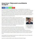 La mobilitat de Tarragona, als mitjans