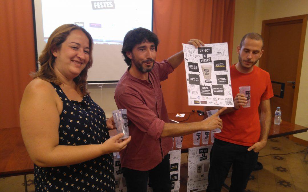 Tarragona tindrà un got ecològic i social per festes