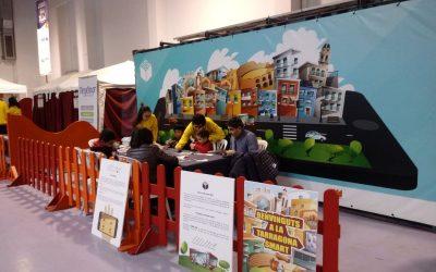 SmartCub i taller de retallables al Parc de nadal