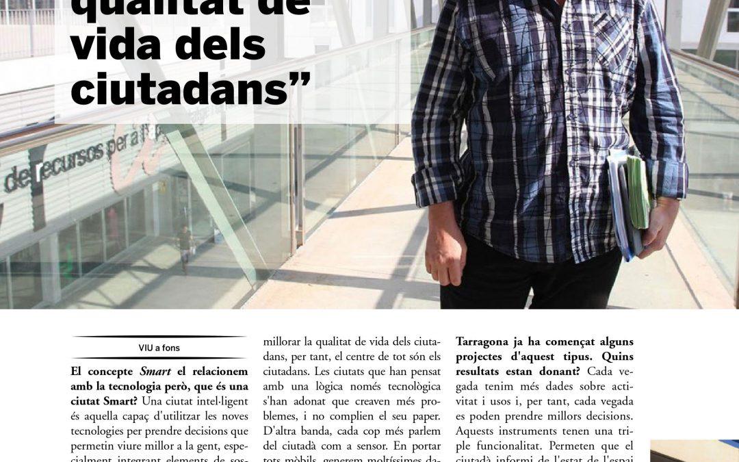 """Viu a Fons: Tarragona – """"Una ciutat intel·ligent està pensada per millorar la qualitat de vida dels ciutadans"""""""