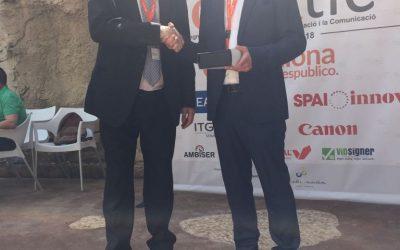 SmartCatSud és premiat durant el LocalTic de Cunit