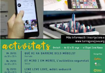 Arriba la Setmana Jove Phone 5, dedicada a la relació entre el jovent i la tecnologia
