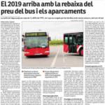 Recull Premsa -Bus Gratuït