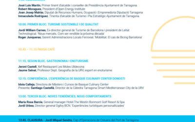V Mediterranean Tourism Meeting el 3 d'abril