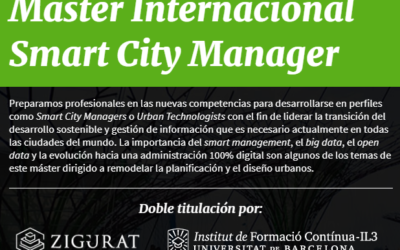 Impuls d'un Màster internacional sobre Smart City