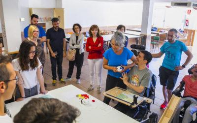 Alumnes de SPiSP creen dos projectes amb 3-D per a 'La Muntanyeta' (2a Edició Projecte Hèlix)