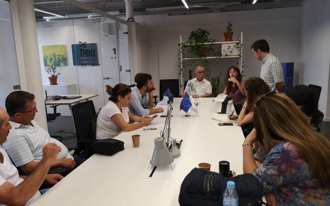 La delegació turca aquest dijous a Barcelona