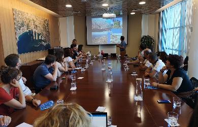 La delegació turca tanca la setmana a Tarragona visitant el Port i la TAP